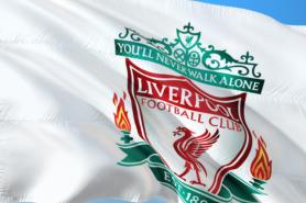 Liverpool football club flag