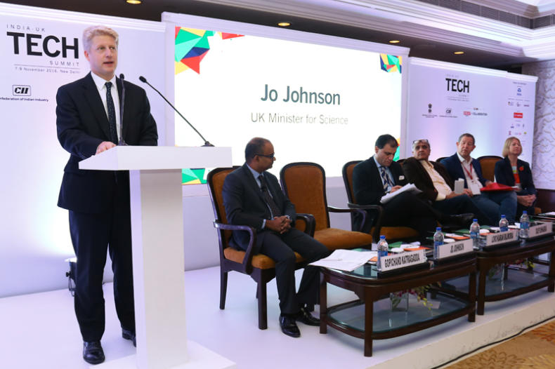 Jo Johnson speaking