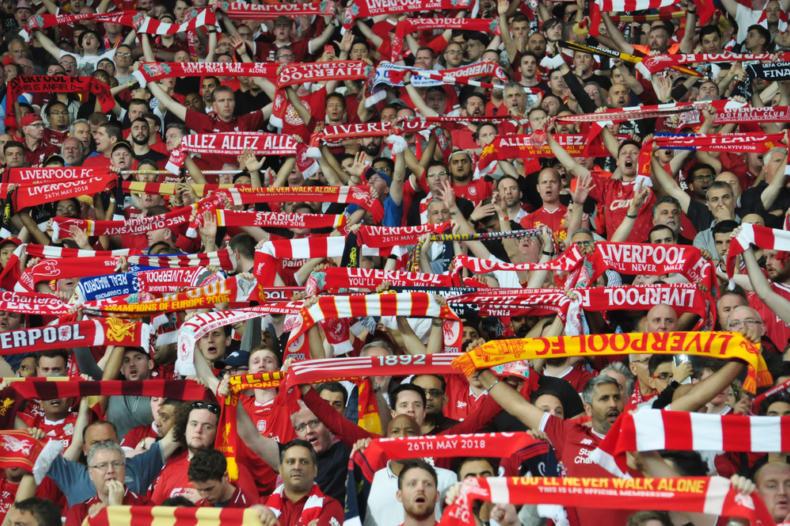 Liverpool football club football fans