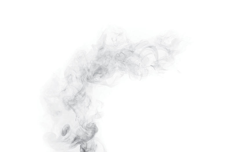 Application goes up in smoke